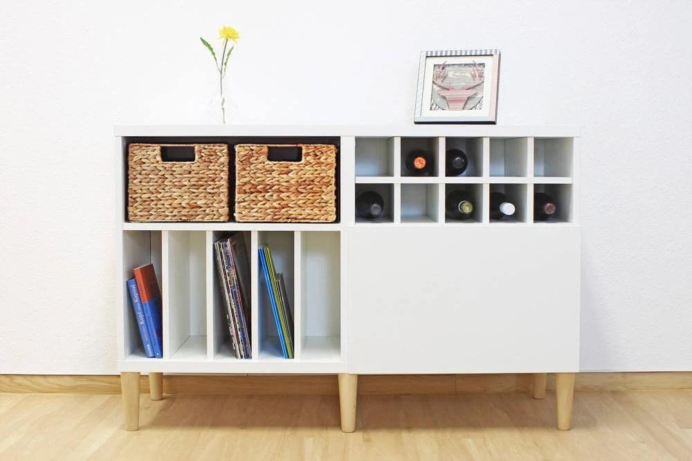 pieds de meubles pour ikea besta shelf ensemble de 4