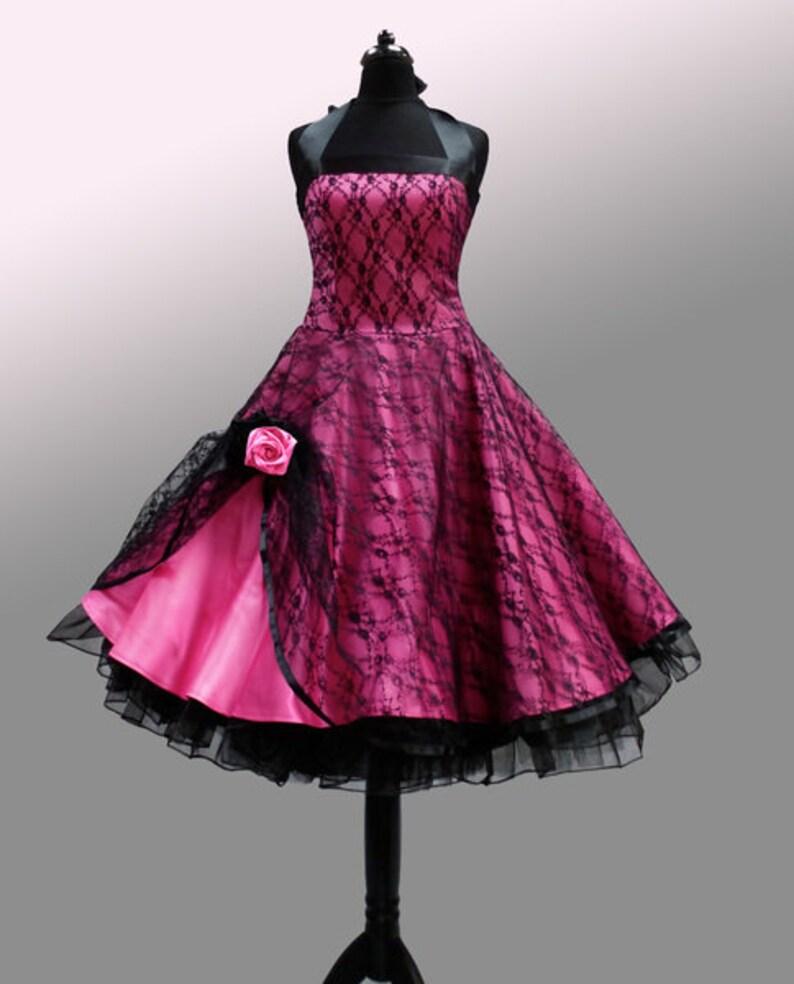 romantic petticoat dress in