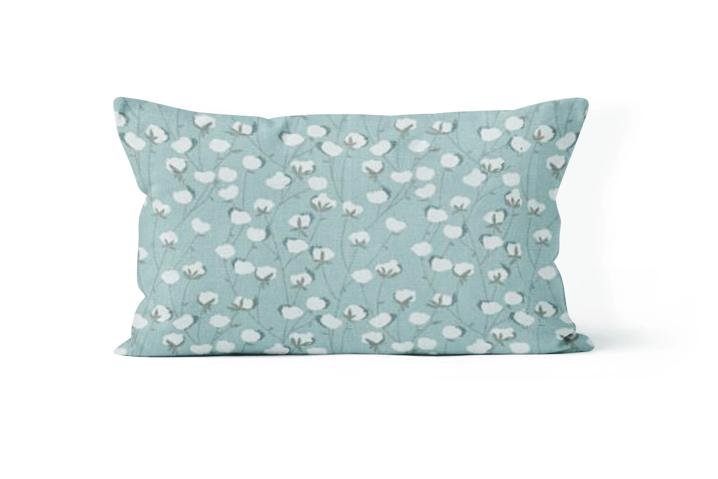Chair Throw Covers Lumbar Pillow Cover Blue Throw Pillow 12x20 Chair Pillow Cover
