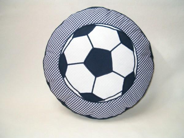 Soccer Ball Pillow Football Children' Room