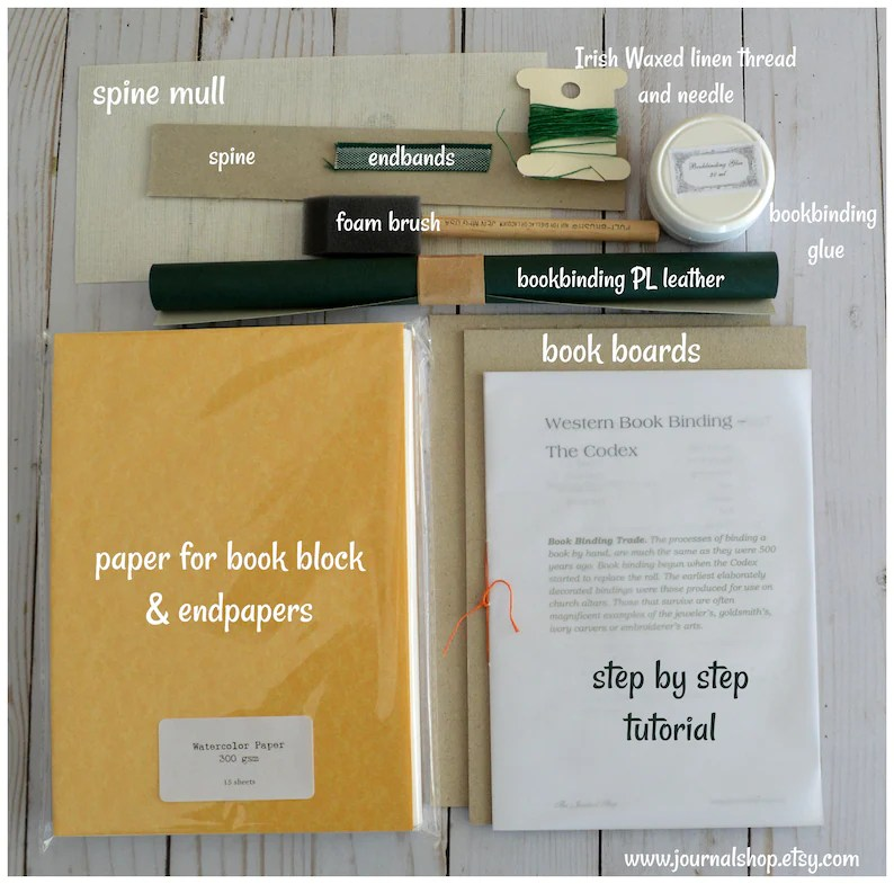 book binding kit diy