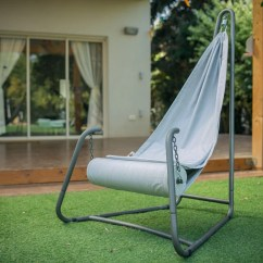 Swing Chair With Stand Kuwait Office Towel Indoor Hanging Etsy Hang Urban Grey For And Outdoor