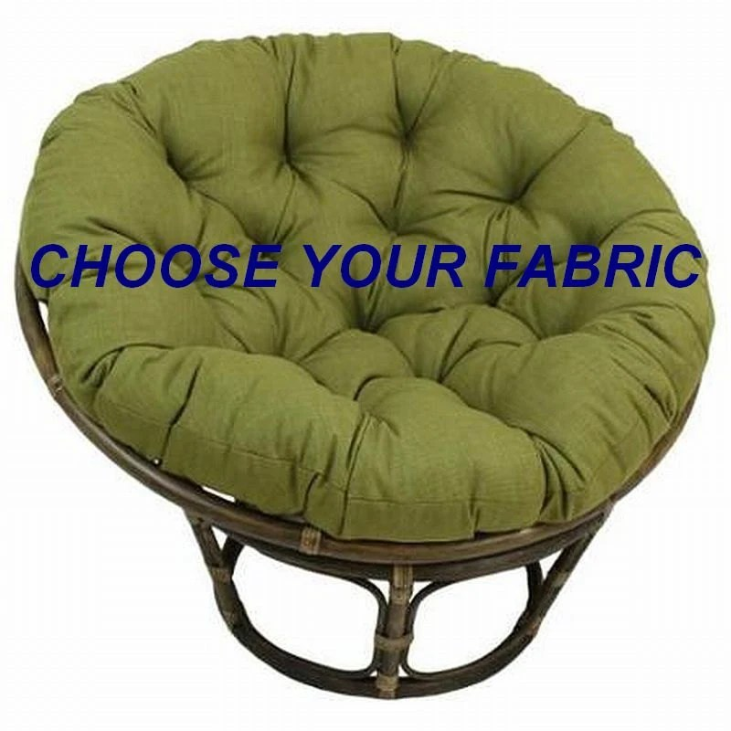 Papasan Cushion Custom Made Cushion Squareasan Cushion  Etsy