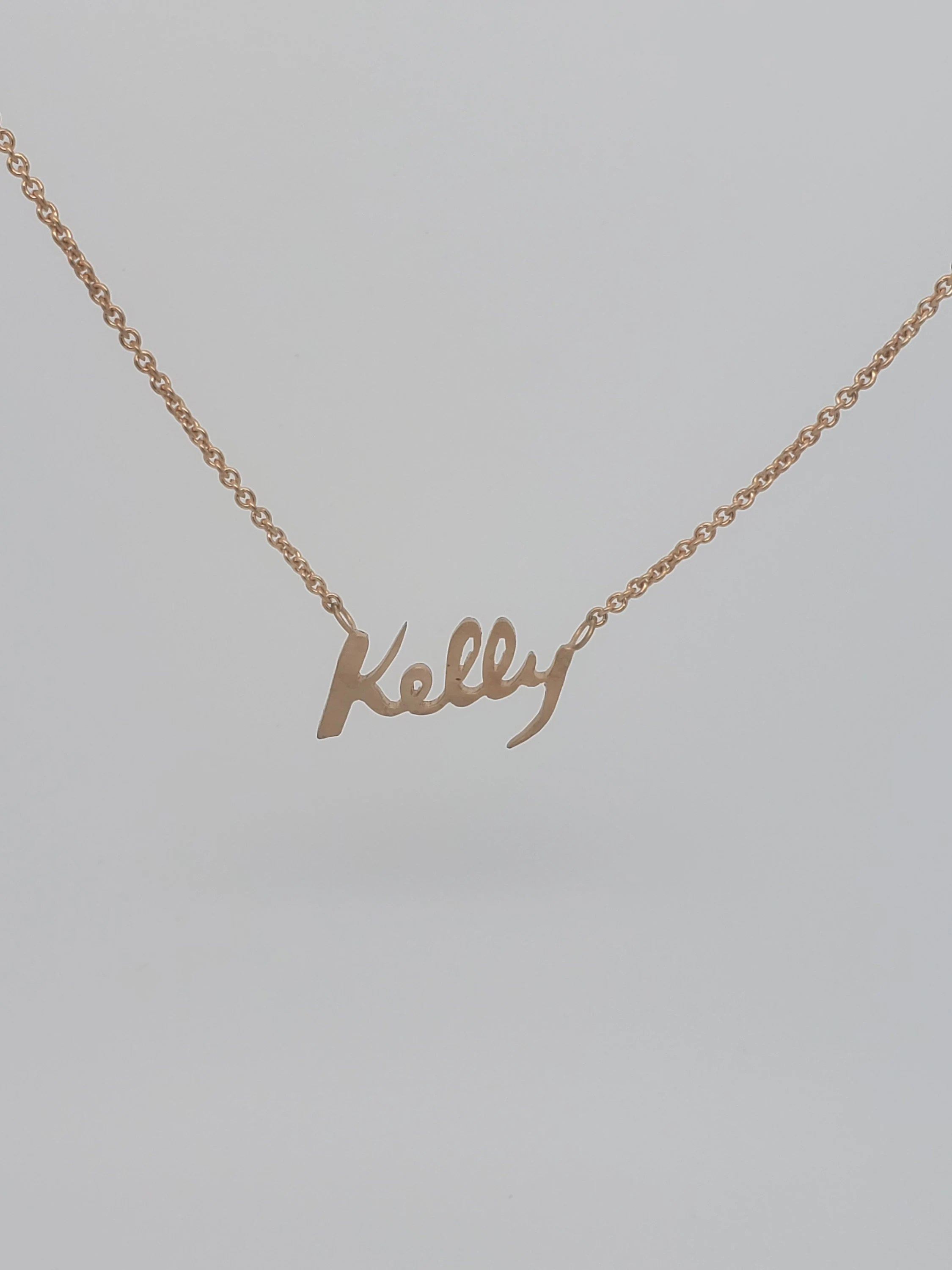 Nameplate Necklace Etsy : nameplate, necklace, Nameplate, Necklace