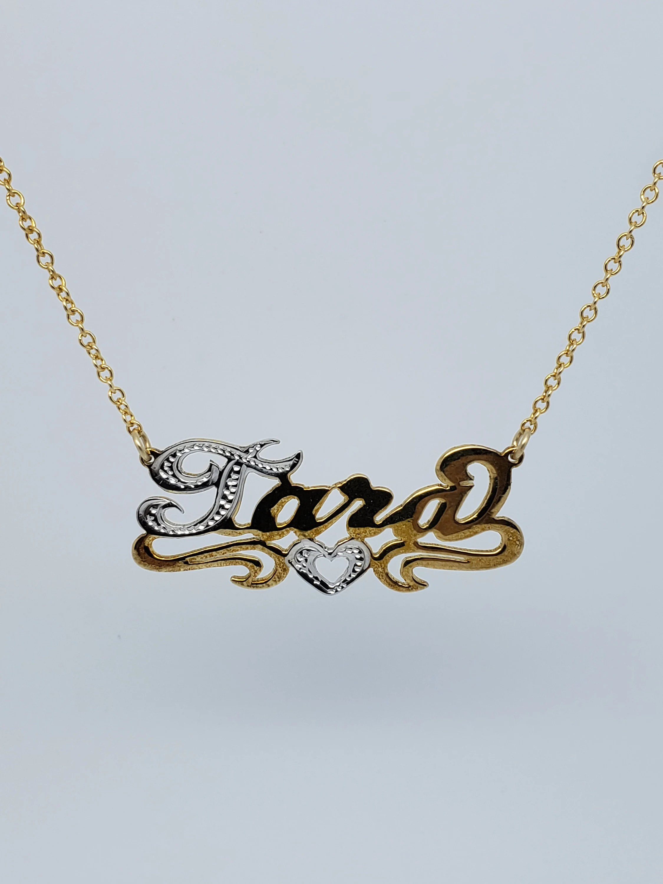 Nameplate Necklace Etsy : nameplate, necklace, Nameplate, Necklace.