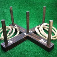 SALE: Rustic Ring Toss Outdoor Yard/Lawn Game with 6 Rings ...