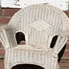 Antique Wicker Chairs Baby Potty Chair India Etsy Vintage White Childs Shabby Chic Decor Photo Prop Doll Display