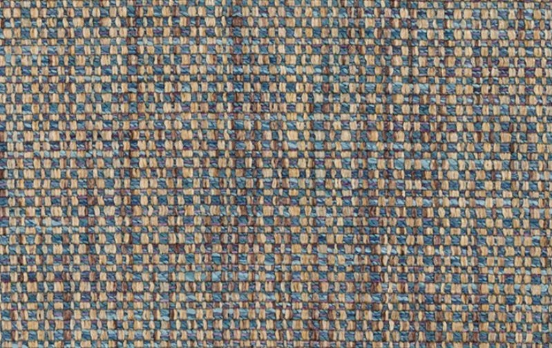 Taupe Blue Tweed Upholstery Fabric Light Blue Woven