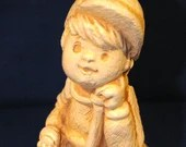 "Paula Sillisculpt ""Dad, Thanks For Always Being There"" from 1981. A great retro Gift Statue."