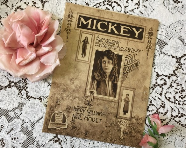 Antique Vintage 1918 MICK...