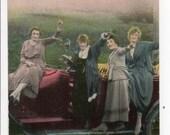 Antique Edwardian Coloriz...