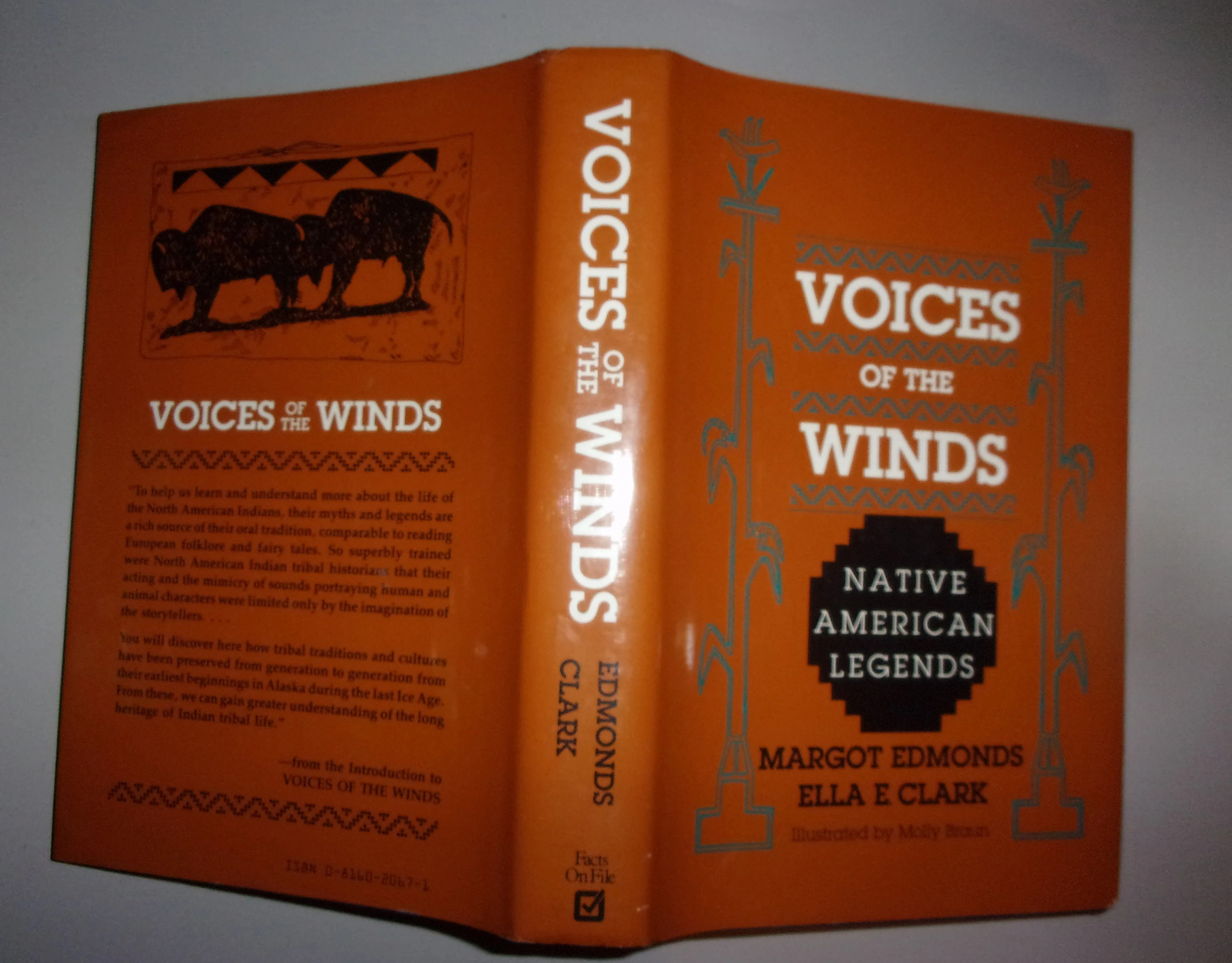 Book Voice Of The Winds Native American Legends By Margot