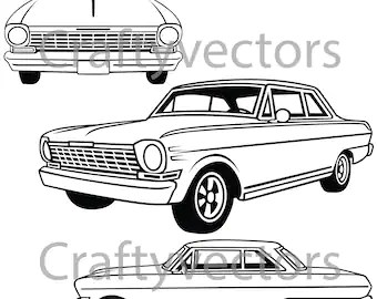 Chevrolet Truck 1987 Vector File