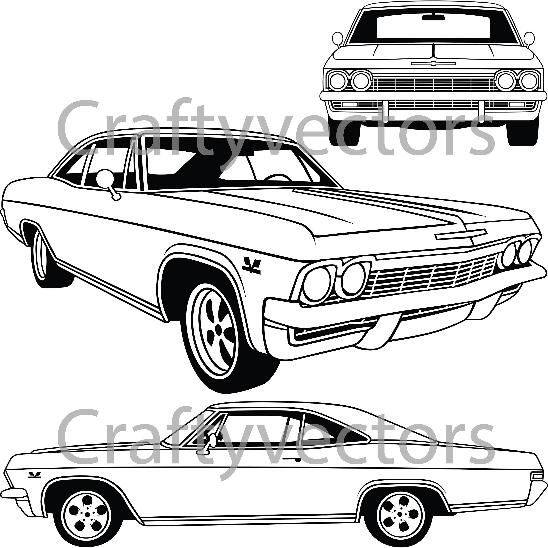 Chevrolet Impala Ss Vector File