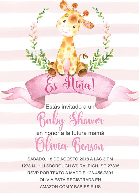 Versos Para Invitaciones De Baby Shower En Espanol : versos, invitaciones, shower, espanol, Invitaciones, Shower, Espanol, Viewer