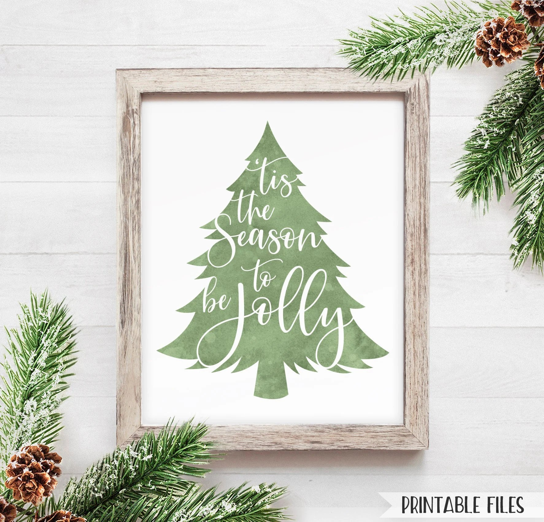 Printable Christmas Decor