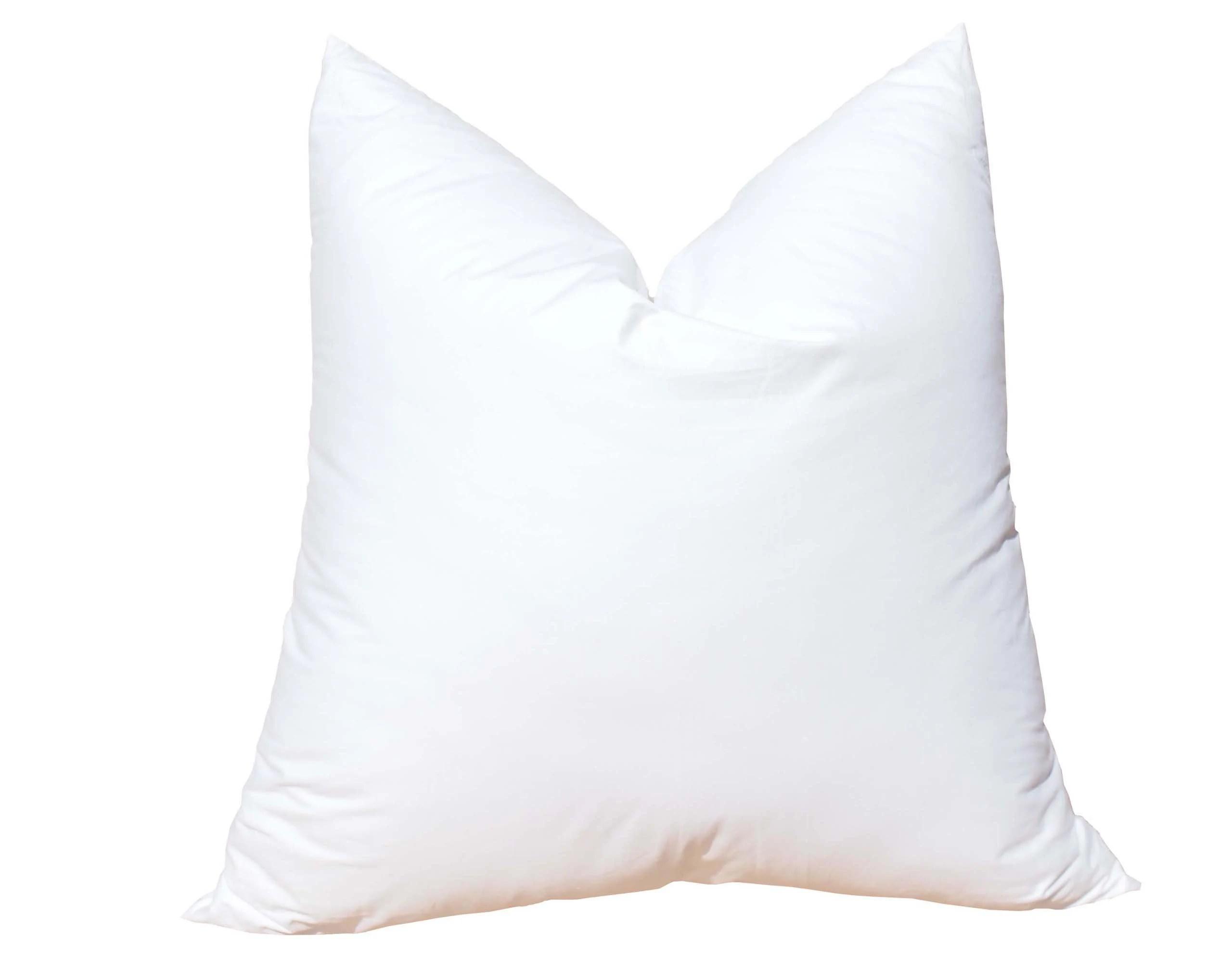 down pillow insert etsy