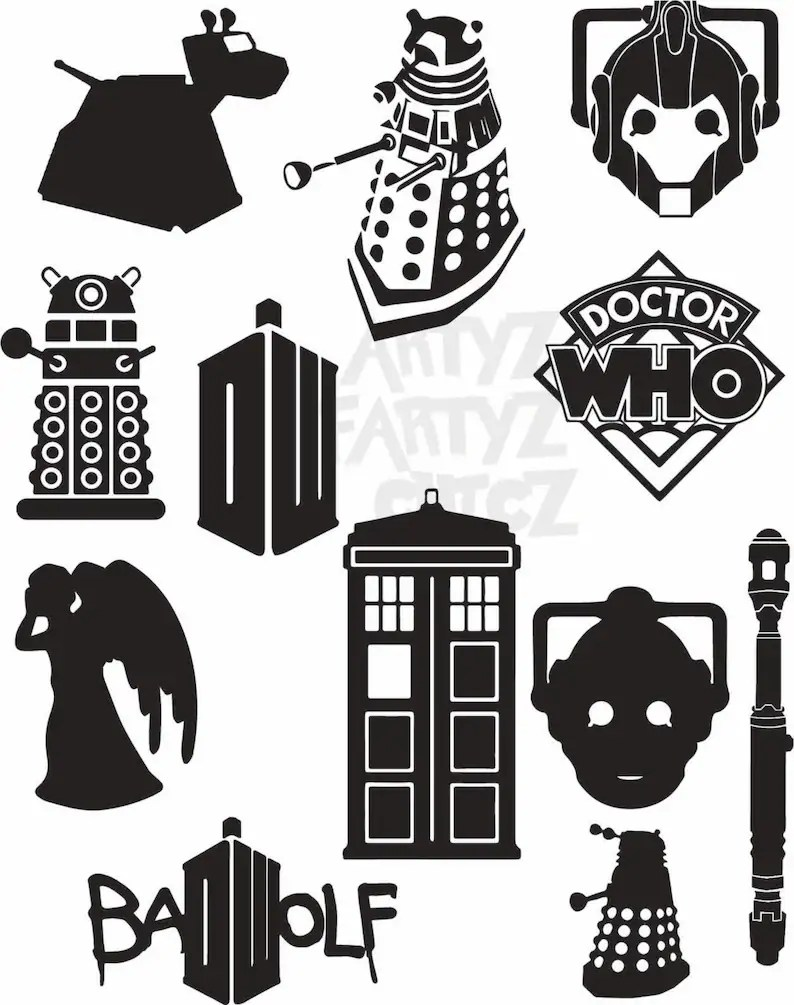 medium resolution of dr who clipart