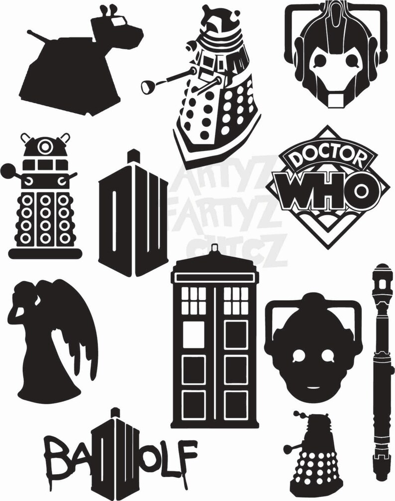 hight resolution of dr who clipart
