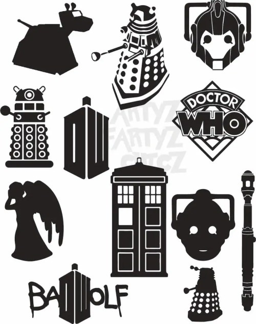 small resolution of dr who clipart