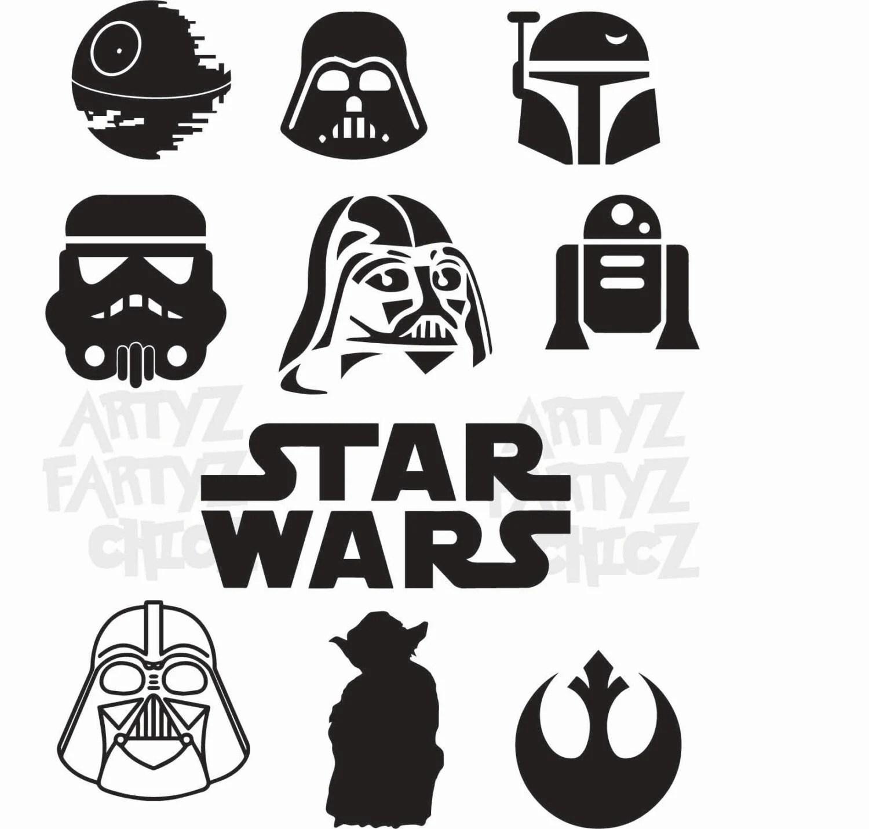 Star Wars Digital Item Only Clipart Digital Download