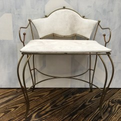 Antique Vanity Chair How Much Does It Cost To Reupholster A Wingback Etsy Vintage Dressing Table Stool Mid Century Modern Makeup Hollywood Regency Pearl Wick Free Pickup