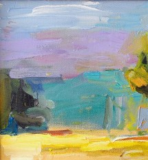 impressionist style landscape painting