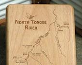 NORTH TONGUE RIVER Map Fl...