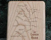 LEHIGH RIVER MAP Fly Box ...