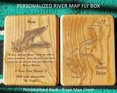 BLACK RIVER Map Fly Box -...
