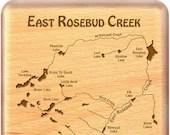 East Rosebud Lakes River ...