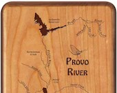 PROVO RIVER MAP Fly Box -...
