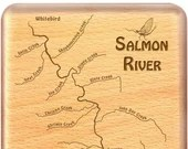 SALMON RIVER Map Fly Fish...