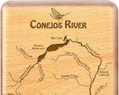 CONEJOS RIVER Map Fly Box...