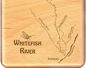 WHITEFISH RIVER Map Fly B...