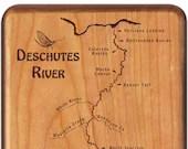 DESCHUTES RIVER Map Fly B...