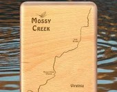 MOSSY CREEK River Map Fly...