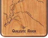 QUILEUTE RIVER MAP Fly Fi...