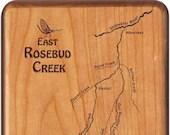 East Rosebud Creek River ...
