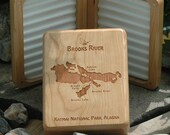 BROOKS RIVER Map Fly Box ...