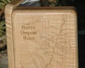 NORTH UMPQUA River Map Fl...