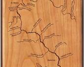 Clark Fork River Map Fly ...