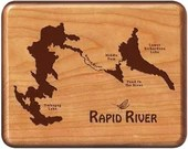 Fly Box - RAPID RIVER MAP...