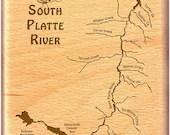SOUTH PLATTE River Map Fl...