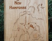 NEW HAMPSHIRE Rivers Maps...