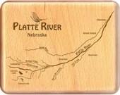 PLATTE RIVER Map Fly Box ...