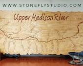 UPPER MADISON River Map M...