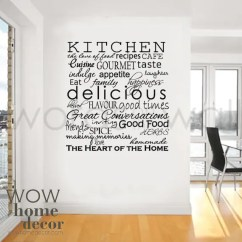 Art For The Kitchen Ninja Mega System Bl770 Reviews Vinyl Wall Sticker Words Inspirational Etsy Image 0