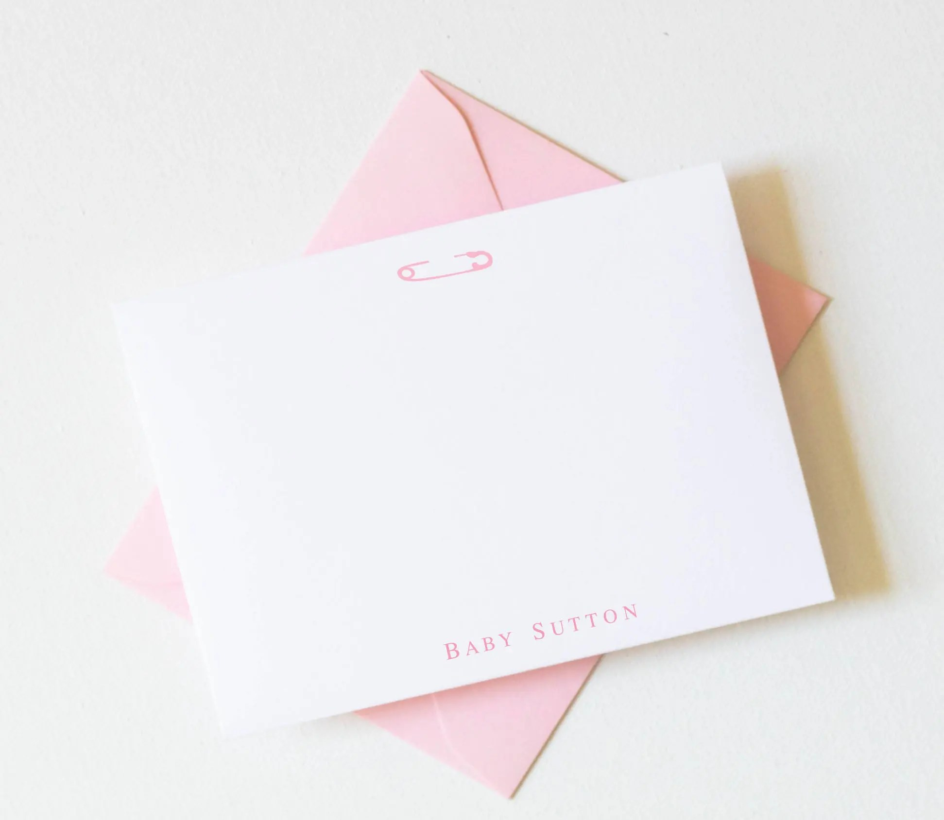 personalized baby stationery personalized