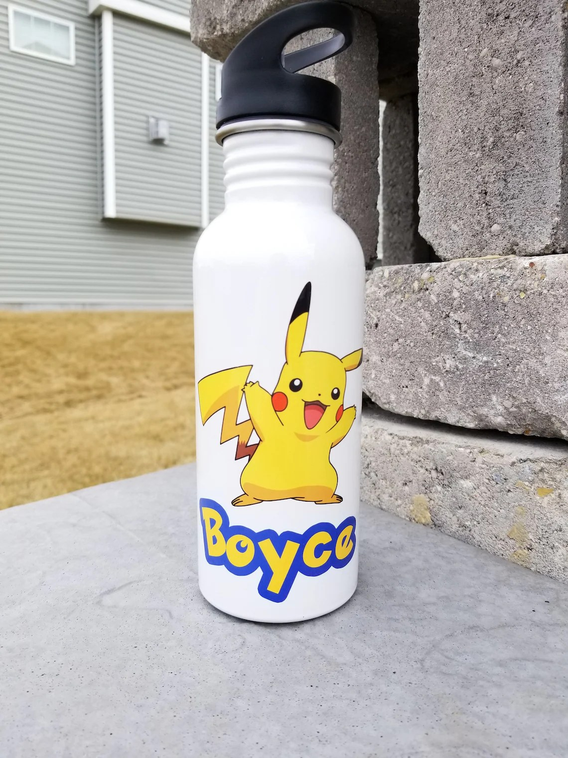 Custom Pokemon Water Bottle